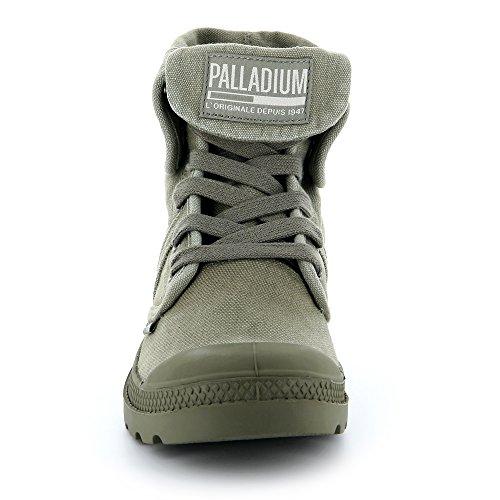 Palladium Damen Pallabrousse Baggy Hohe Sneaker Grün (Vetiver/burnt Olive K81)