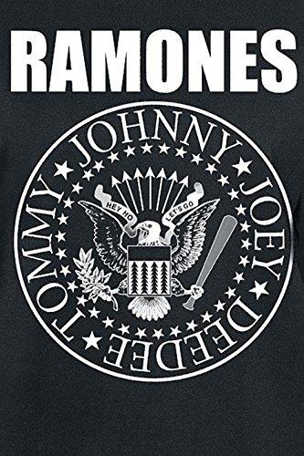 Ramones Seal Girl-Longsleeve schwarz Schwarz