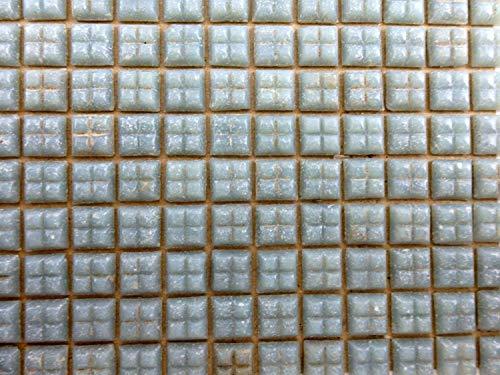 Melody Jane Puppenhaus Mosaik Bodenbelag 377 Einzelne Miniatur Echt Glas Fliesen Grau -
