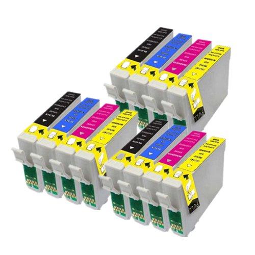 PerfectPrint - 12 compatibles cartuchos de tinta T1295 Para Impresora