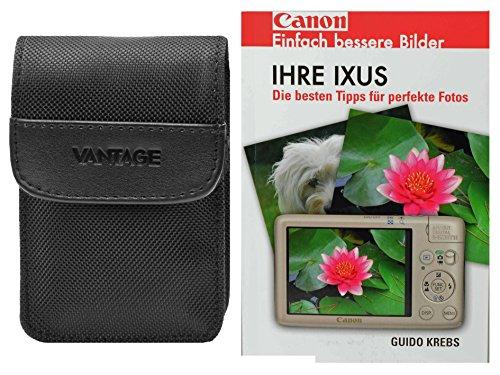 Foto Kamera Tasche DCN Vantage Set mit Taschenbuch für Canon Ixus 220 285 275 265 255 185 180