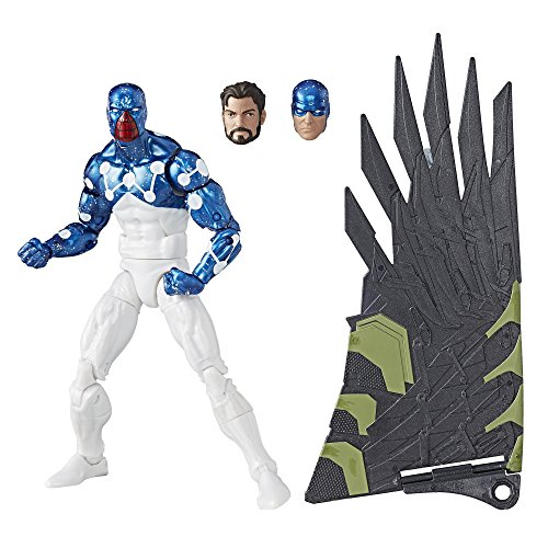 Marvel Legends action figure Spider-Man Cosmic Spider Man (build Vulture Flight Gear), 6 inches