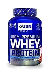 USN Whey Protein Premium Fraise 2.28 kg