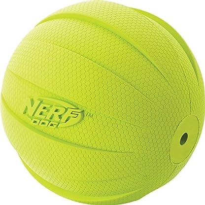Nerf Dog Squeak Ball, 4.25-Inch, Red 2