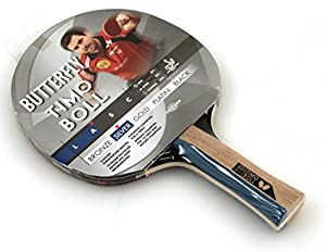 Timo Boll Racket – Edition High-Quality Butterfly Table Tennis Bat (Black/Platinum/Gold/Silver/Bronze) Review 2018 from Butterfly