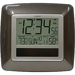 La Crosse Technology WT 8112U solaire Horloge atomique