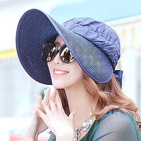Sun Hat The Korean version of the Visor Outdoor Tour Hats Uv Resistant Beachside Cap