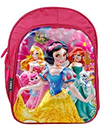 23b21c88c84 RBRN Polyester Beautiful Princess Pink School Bag with 3D Effect Lightweight  Suitable for 5-7