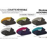 Couette Reversible Microfibre Bicolore x dp BVV