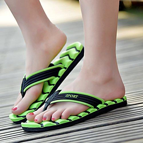 chaussures tongs chaussures plage hommes traînés pantoufles de bain Light green