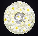 Duschhaube Gelb Shower Cap Blumen-Motiv