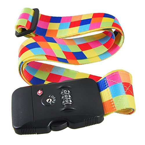 sunray-tsa-combination-lock-luggage-strap-adjustable-suitcase-travel-belt-coloured-grids