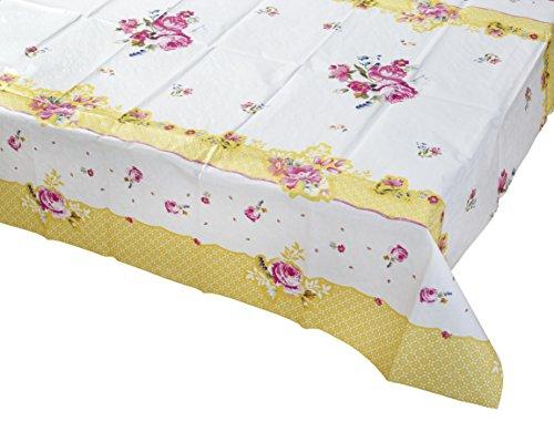 Talking Tables Pretty Floral Housse de table, EN microfibre, Multicolore,