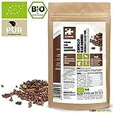 NATURTEIL - BIO CRIOLLO KAKAONIBS/Superfood in Rohkostqualität, Organic, Raw, Vegan, Cacao Nibs - 200g