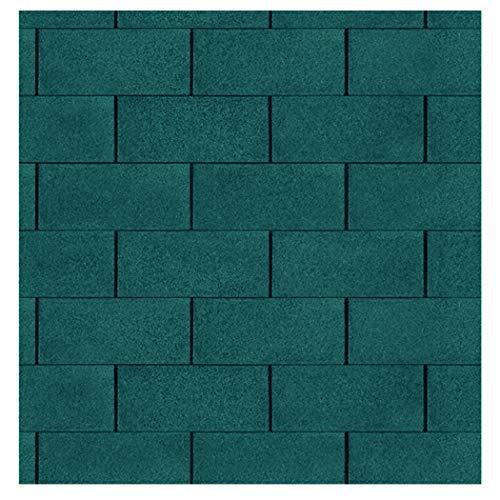 Bitumen Dachschindeln Farbe grün 3 m² von Gartenpirat