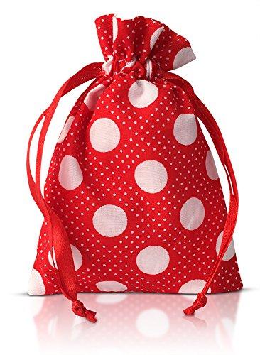AvaLoona Menstruationstasse Doppelpack aus medizinischem Silikon mit Beutel (groß, Erdbeere, 2 Menstruationskappen) - 8