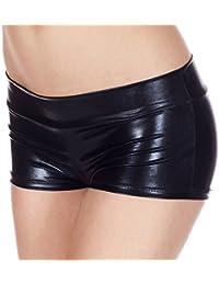 Masterein Womens Lingerie ¨¤ bas prix Shorts m¨¦talliques Shiny Pole Dance Shorts