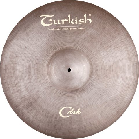 Turkish Cymbals C-Dark Cymbale Crash 16