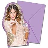 Violetta Gold Edition Die-cut Invitations & Envelopes