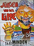 Jürgen von der Lippe - Minden 2002 Konzert-Poster A1
