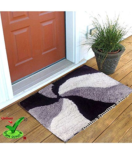 Online Quality Store Perfect Cotton Door mat for different locations of a house (Multi, Cotton,16*24, Medium) Offer Price for 5 days  available at amazon for Rs.119