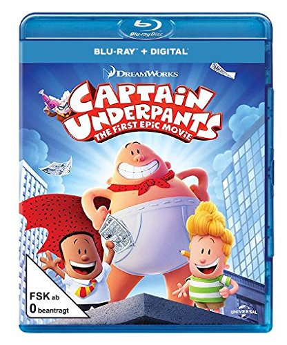 Captain Underpants - Der supertolle erste Film [Blu-ray]