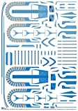ZUNTO decals modellbau Haken Selbstklebend Bad und Küche Handtuchhalter Kleiderhaken Ohne Bohren 4 Stück