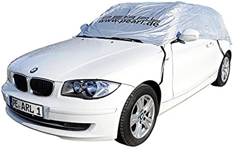 PEARL Autoschutzkappe: Premium Auto-Halbgarage Fließheck & Minivan 360x135x40cm (Wintergarage)