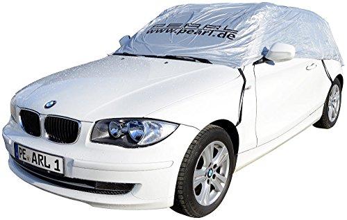 PEARL Kfz Halbgaragen: Auto-Halbgarage für Fließheck & Minivan, 390 x 138 x 58 cm (Auto Sonnenschutz Garage)