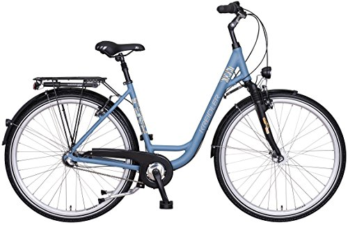 Kreidler Cash 1.0 3-G Nexus RT City Bike 2017 (Blaugrau, 28