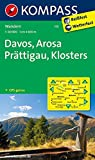 Davos - Arosa - Prättigau - Klosters: Wanderkarte. GPS-genau. 1:40000 (KOMPASS-Wanderkarten, Band 113)