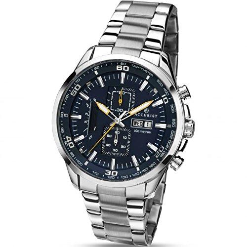 Reloj de pulsera para hombre del cronógrafo de Londres Accurist 7005