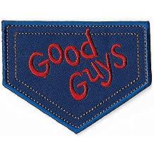 PARCHE BORDADO Chucky Good Guys Parche de hierro bordado coser en Badge Película de horror Juego