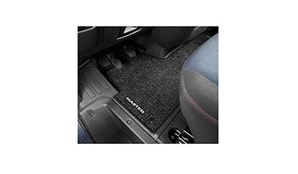 Black Fully Tailored Rubber Van Floor Mat For Renault Master 2010 Onwards