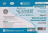 Shuchita Prakashan's Solved Scanner Direct Tax Laws & International Taxation CA Final Gr. II (New Syllabus) Paper-7 19ED