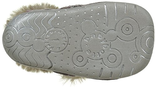 Babybotte Zut, Chaussures Quatre Pattes (1-10 mois) Bébé Fille Rose (079 Rose/Pois Argent)