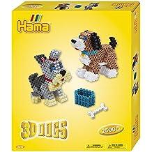 Hama 10.3243 3D Dogs Craft Set