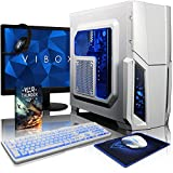 VIBOX Pyro SA8-283 Package - 3.8GHz AMD A8 Quad Core CPU, Desktop PC Computer with Game Bundle, 22