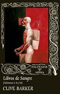 Libros de Sangre par Clive Barker