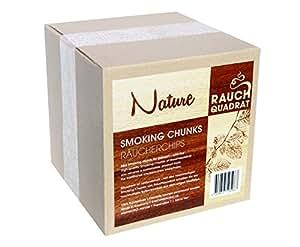 r ucherchips smoking chunks 1 3 kg buche natur holz chips zum grillen r uchern bbq. Black Bedroom Furniture Sets. Home Design Ideas