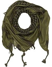 Shemag bufanda de cuello, Palestina, Oliva/Negro