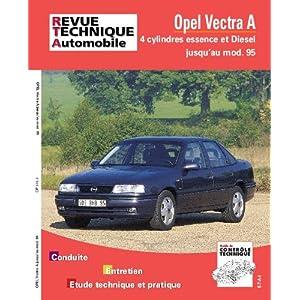 Revue Technique Vectra essence & diesel moteur 4 cylindres