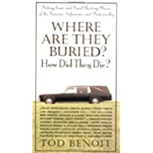 Where are They Buried? How Did They Die?: Fitting Ends and Final Resting Places of the Famous, Infamous and Noteworthy [Idioma Inglés]