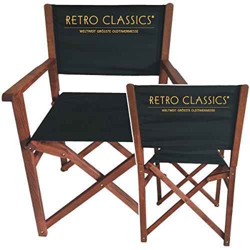 "Holz Regiestuhl ""Retro Classics"""