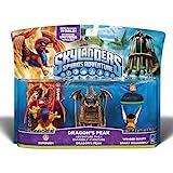 Skylanders Spyro's Adventure 3-pack [Sunburn, Dragon's peak, Winged Boots and Sparx Dragonfly]