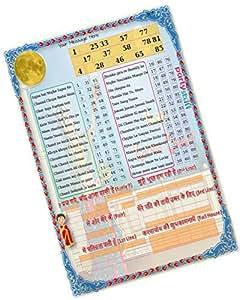 Party Stuff Karwachauth Theme Tambola Housie Tickets - Karwachauth Songs Dividend Grid kukuba 1 - Singlet Kukuba (12 Cards) | Kitty Games