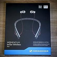 Sennheiser Momentum - Auriculares In-Ear inalámbricos (Bluetooth 4.1, NFC, USB,