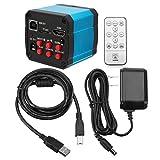RISHIL WORLD 14MP TV HDMI USB Industry C-Mount Microscope Digital Camera TF Video Recoder DVR