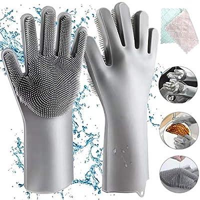 Aiglam Silikon Handschuhe Magische