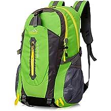 40L Leichte Wanderrucksack, Natuce Multifunktionale Wasserdicht Casual Camping Tagesrucksack für Outdoor-Sport Klettern Bergsteiger 52 X 33 X 16 cm